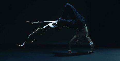 Nike breakdance