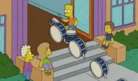 Los Simpson y Michael Gondry