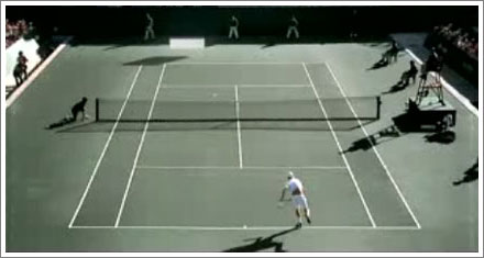 Andy Roddick vs Pong
