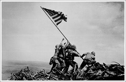 La bandera sobre Iwo Jima