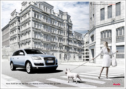 Campaña Audi Q7 - Makes everything else go pale