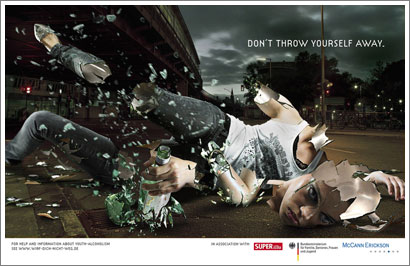 Don´t throw yourself away