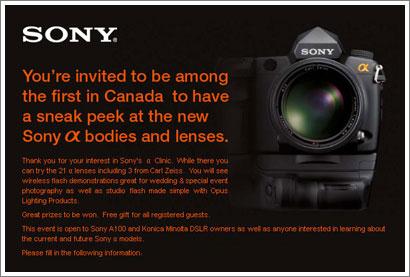 Nuevas Sony Alpha