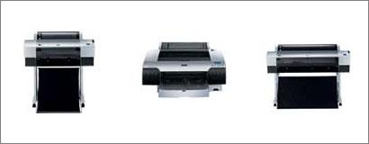 Epson 4880, Epson 7880 y Epson 9880 impresoras de gran formato