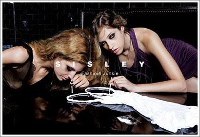 Polemica campaña de Sisley : Adictas a la moda