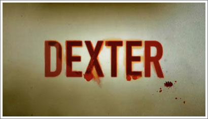 Dexter, fotografia y titulos de credito