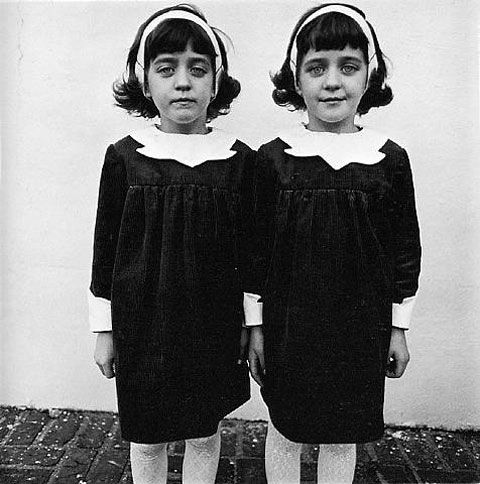 Diane Arbus, Identical Twins, Roselle, New Jersey