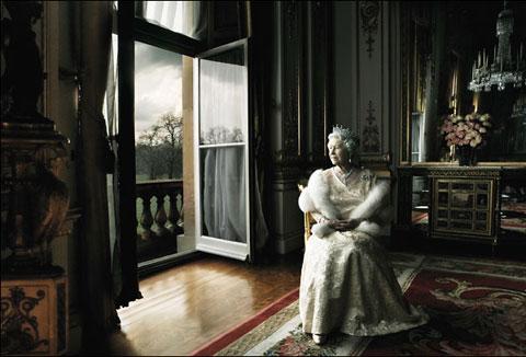 Annie Leibovitz y Queen Elizabeth