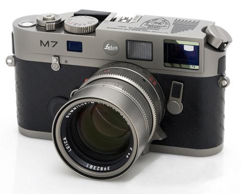 Leica M7 Titanium John Botte '9/11 Memorial'