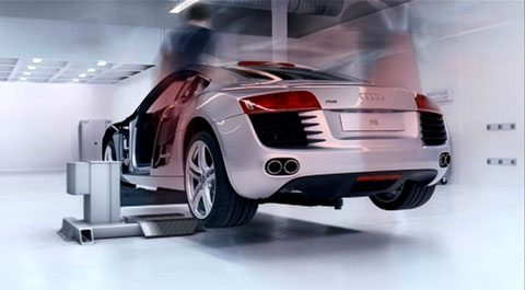 Audi R8 by The Mill