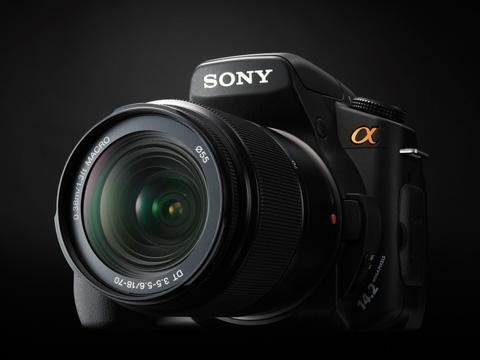 Nuevas Sony Alpha 300 y 350