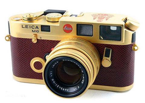 Leica M6 Gold Thailand