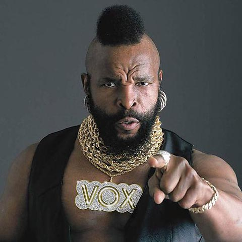 Mr. T. Treat your Mother right