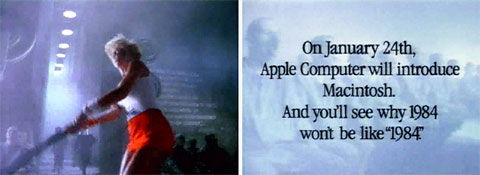 Anuncio Apple :: 1984, por Ridley Scott