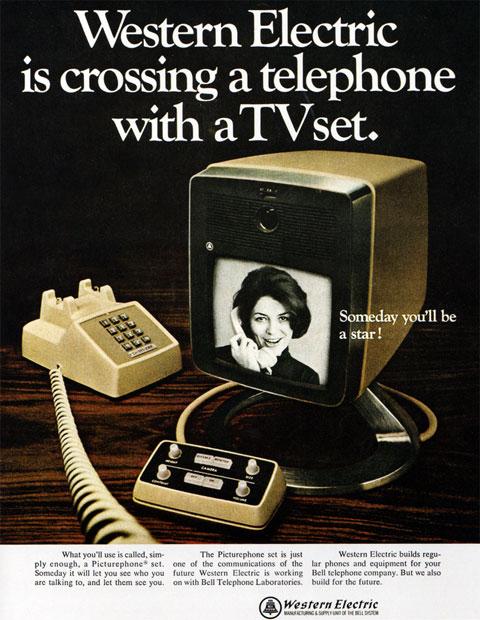 Publicidad de los años 50 al 70