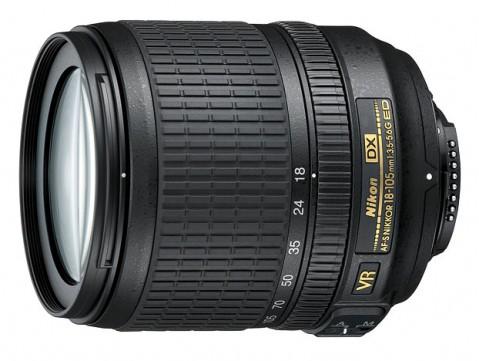 Nikkor 18-105MM F/3.5-5.6G ED VR
