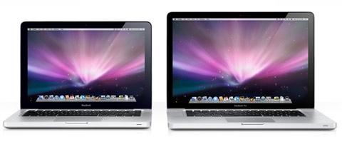 Nuevos portatiles de Apple